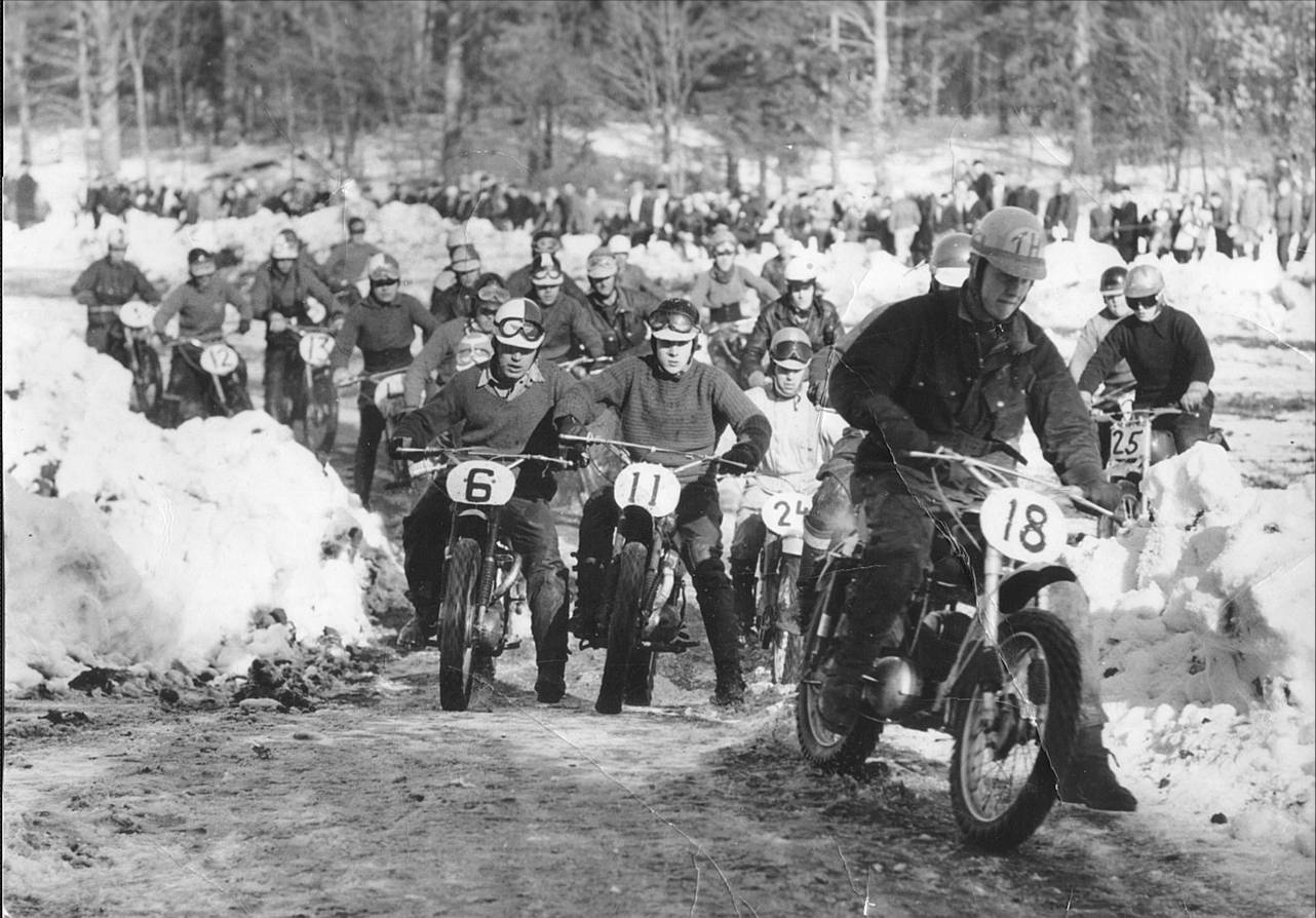 Snöcross Rosendahlsbanan